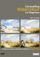 Unraveling Watercolour for Beginners with Ian King - 3 DVD Set