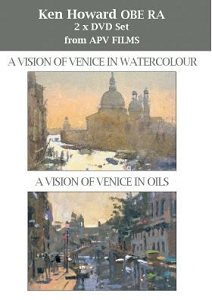 Ken Howard Twin Pack, Vision of Venice in Watercolour and Vision of Venice in Oils