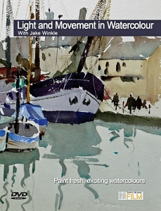 Light and Movement in Watercolour DVD with Jake Winkle
