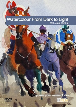 Watercolour From Dark To Light with Jake Winkle
