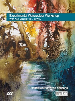 Experimental Watercolour Workshop DVD with Ann Blockley